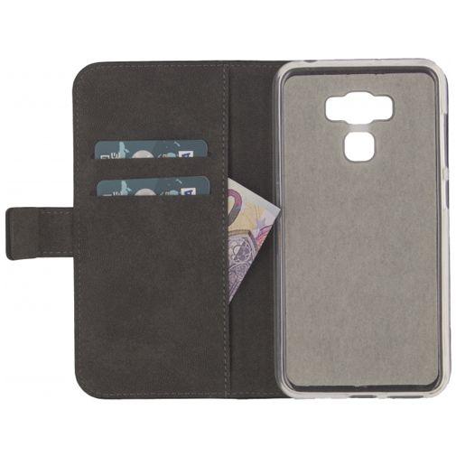 Mobilize Classic Gelly Wallet Book Case Black Asus Zenfone 3 Max (5.5)