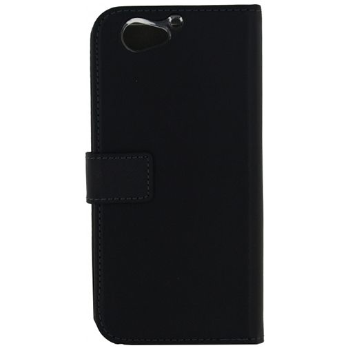 Mobilize Classic Gelly Wallet Book Case Black HTC One A9s