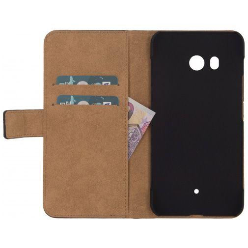 Mobilize Classic Wallet Book Case Black HTC U11