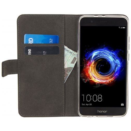 Mobilize Classic Gelly Wallet Book Case Black Honor 8 Pro