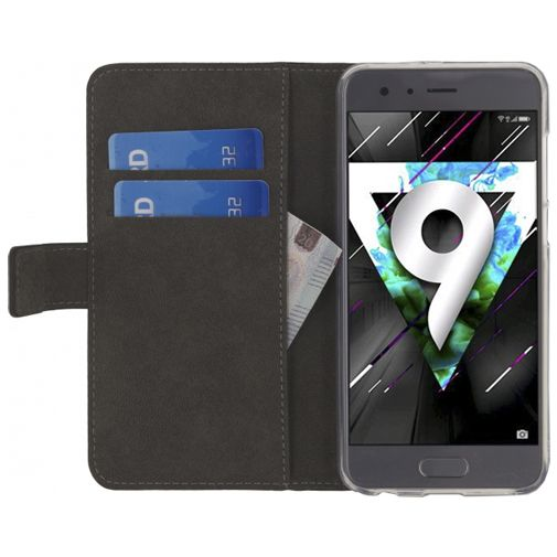 Mobilize Classic Gelly Wallet Book Case Black Honor 9
