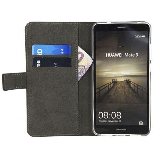 Productafbeelding van de Mobilize Classic Gelly Wallet Book Case Black Huawei Mate 9