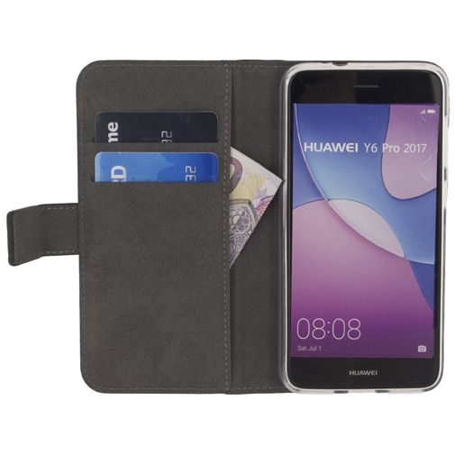 Mobilize Classic Gelly Wallet Book Case Black Huawei Y6 Pro (2017)