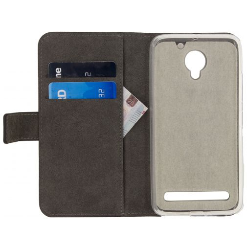 Mobilize Classic Gelly Wallet Book Case Black Lenovo C2 Power
