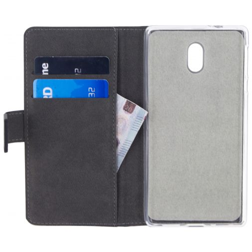 Mobilize Classic Gelly Wallet Book Case Black Nokia 3