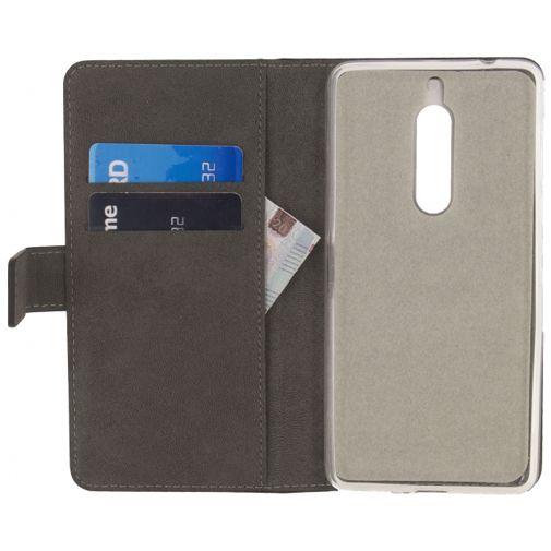 Productafbeelding van de Mobilize Classic Gelly Wallet Book Case Black Nokia 5