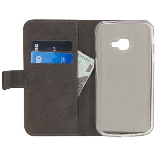 Mobilize Classic Gelly Wallet Book Case Black Samsung Galaxy Xcover 4