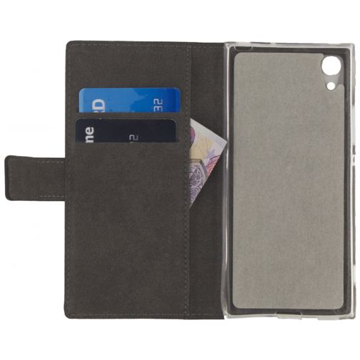 Mobilize Classic Gelly Wallet Book Case Black Sony Xperia XA1