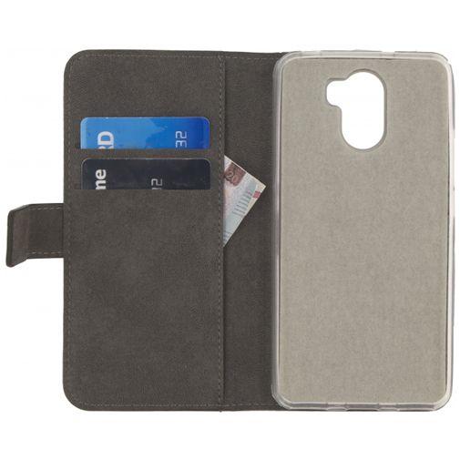Mobilize Classic Gelly Wallet Book Case Black Wileyfox Swift 2