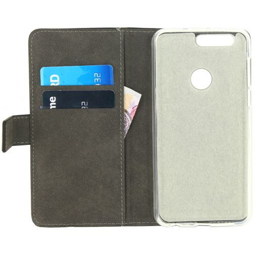 Mobilize Classic Gelly Wallet Book Case Honor 8 Black