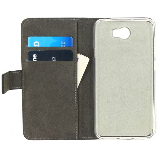 Mobilize Classic Gelly Wallet Book Case Huawei Y6 II Compact Black
