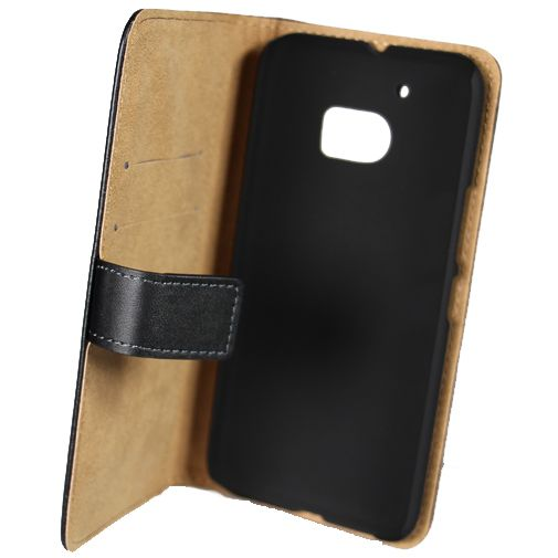 Mobilize Classic Wallet Book Case Black HTC 10 (Lifestyle)