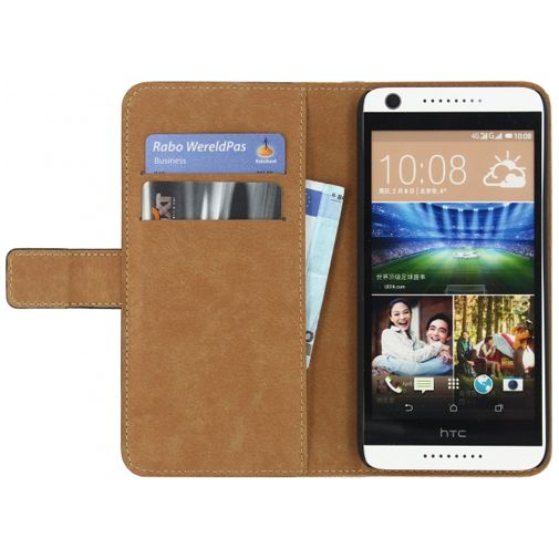 Mobilize Classic Wallet Book Case Black HTC Desire 626