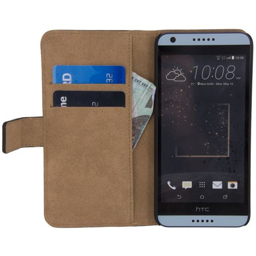 Mobilize Classic Wallet Book Case Black HTC Desire 650