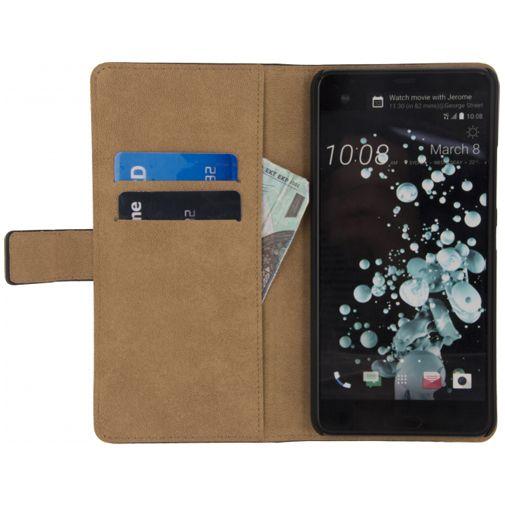 Mobilize Classic Wallet Book Case Black HTC U Ultra
