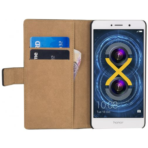 Mobilize Classic Wallet Book Case Black Honor 6X