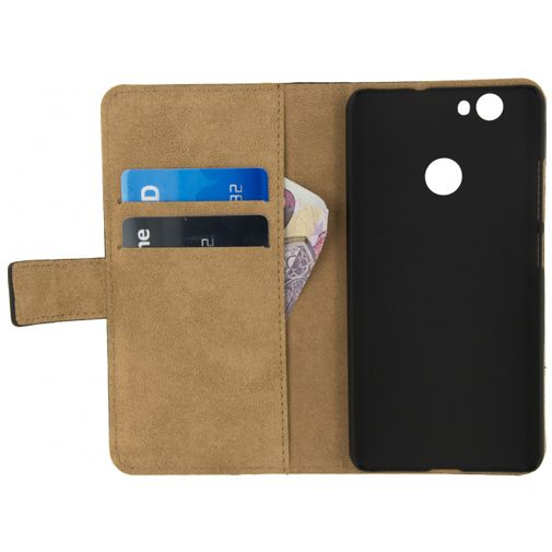Mobilize Classic Wallet Book Case Black Huawei Nova