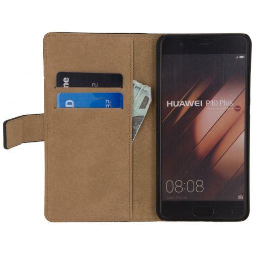 Mobilize Classic Wallet Book Case Black Huawei P10 Plus
