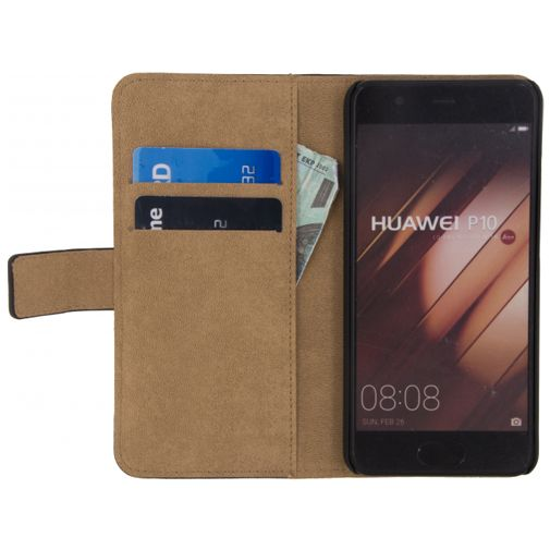 Mobilize Classic Wallet Book Case Black Huawei P10