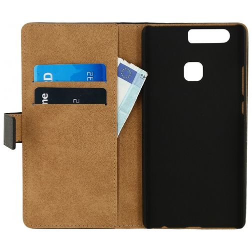 Mobilize Classic Wallet Book Case Black Huawei P9 Plus