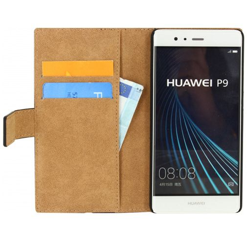 Mobilize Classic Wallet Book Case Black Huawei P9
