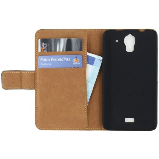 Mobilize Classic Wallet Book Case Black Huawei Y360