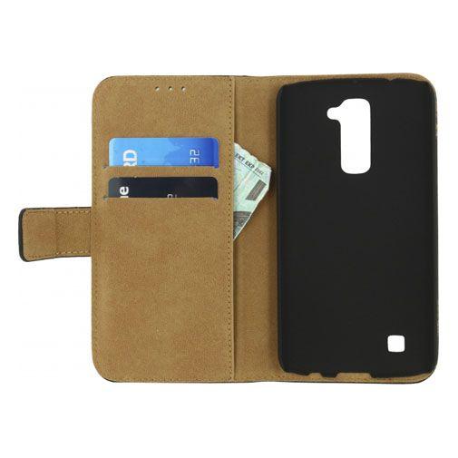 Mobilize Classic Wallet Book Case Black LG K10