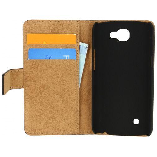 Mobilize Classic Wallet Book Case Black LG K4