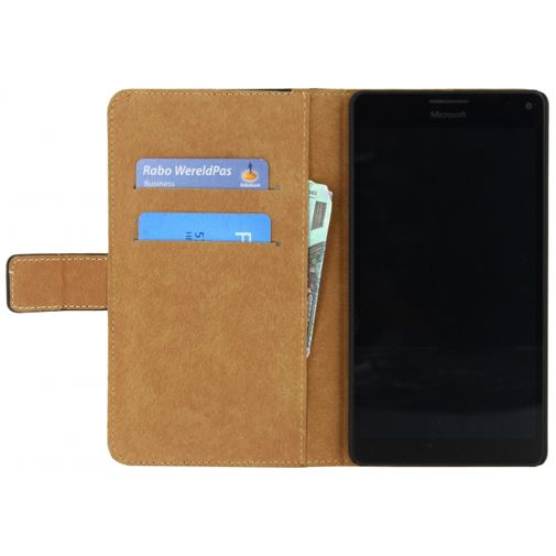 Mobilize Classic Wallet Book Case Black Microsoft Lumia 950 XL