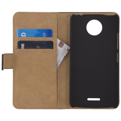 Mobilize Classic Wallet Book Case Black Motorola Moto C Plus