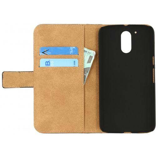 Mobilize Classic Wallet Book Case Black Motorola Moto G4/G4 Plus