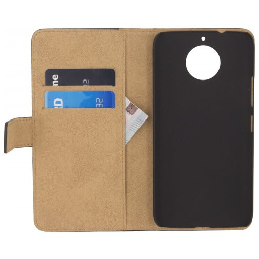 Productafbeelding van de Mobilize Classic Wallet Book Case Black Motorola Moto G5s Plus