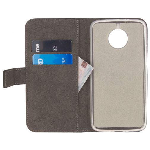 Mobilize Classic Gelly Wallet Book Case Black Motorola Moto G5s