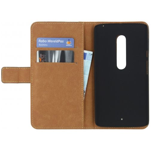 Mobilize Classic Wallet Book Case Black Motorola Moto X Play