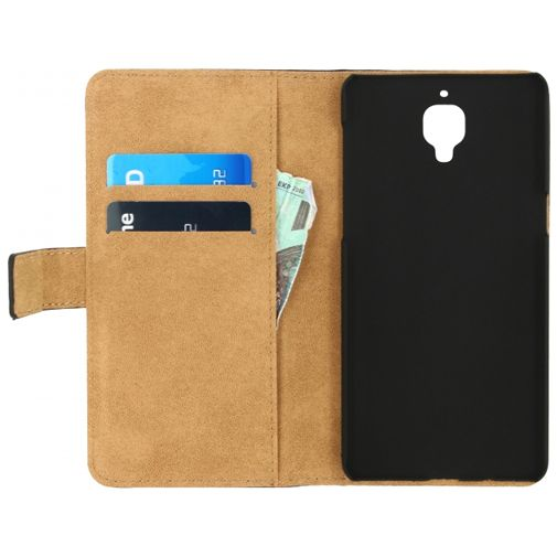 Mobilize Classic Wallet Book Case Black OnePlus 3/3T