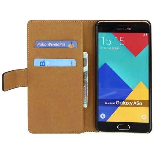 Productafbeelding van de Mobilize Classic Wallet Book Case Black Samsung Galaxy A5 (2016)