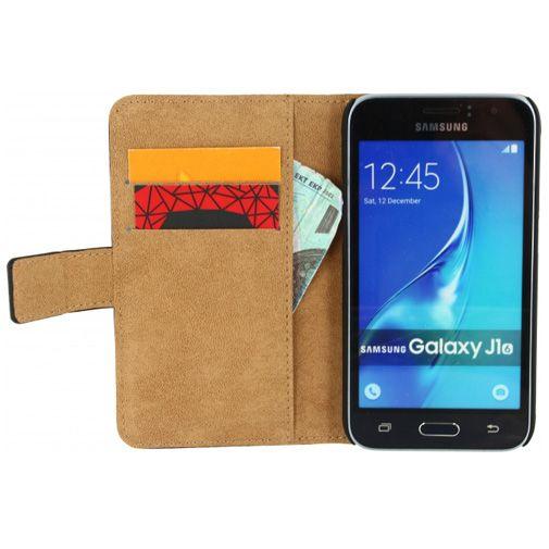 Mobilize Classic Wallet Book Case Black Samsung Galaxy J1 (2016)