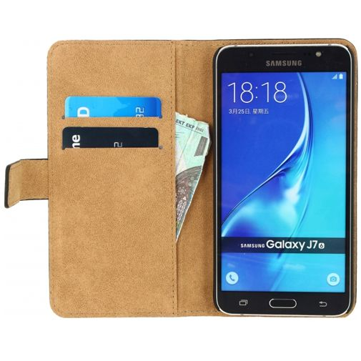 Mobilize Classic Wallet Book Case Black Samsung Galaxy J7 (2016)