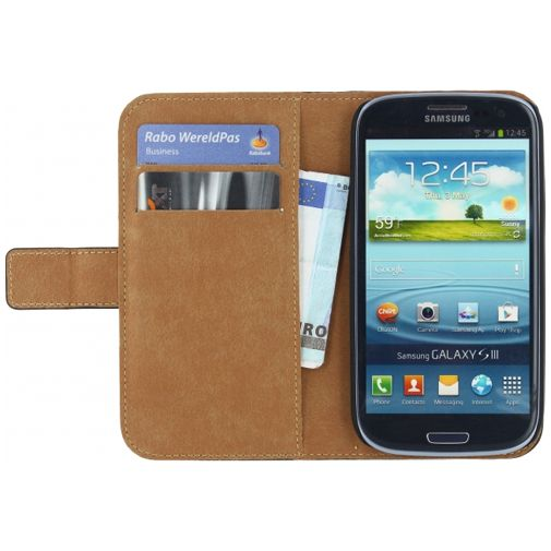Mobilize Classic Wallet Book Case Black Samsung Galaxy S3 (Neo)