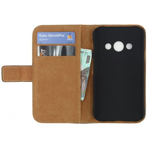 Productafbeelding van de Mobilize Classic Wallet Book Case Black Samsung Galaxy Xcover 3 (VE)