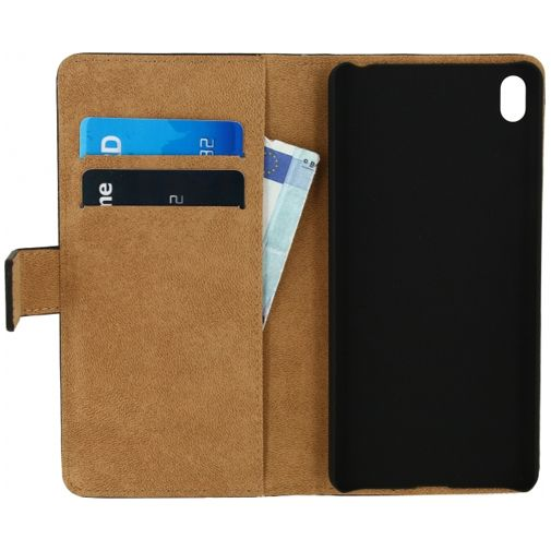 Mobilize Classic Wallet Book Case Black Sony Xperia E5