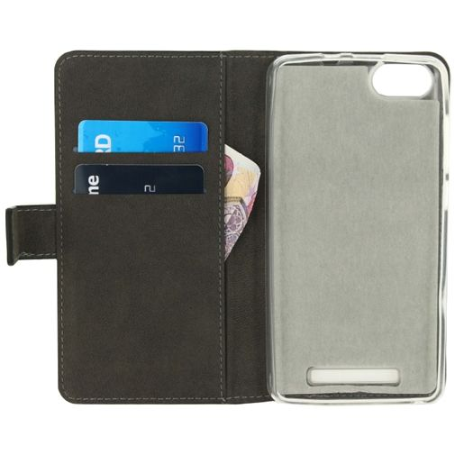 Mobilize Gelly Wallet Book Case Black Wiko Lenny 3