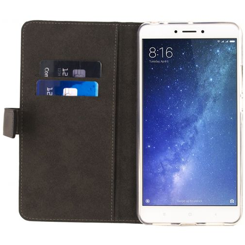 Mobilize Classic Wallet Book Case Black Xiaomi Mi Max 2