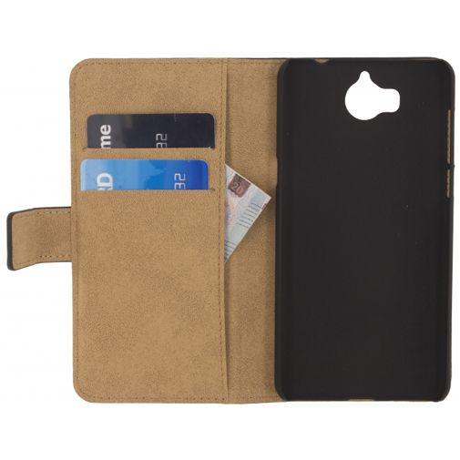 Mobilize Classic Wallet Book Case Black Huawei Y6 2017