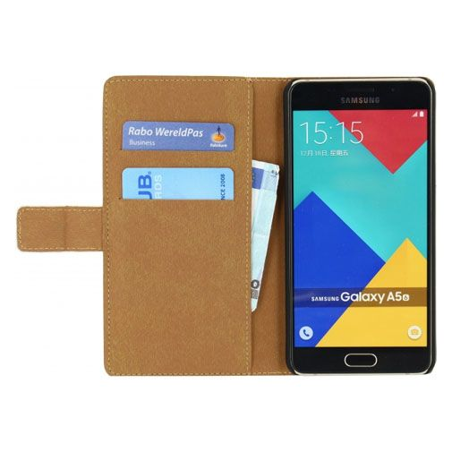 Mobilize Classic Wallet Book Case White Samsung Galaxy A5 2016