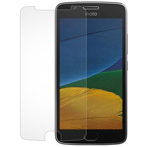 Mobilize Clear Screenprotector Motorola Moto G5 2-Pack