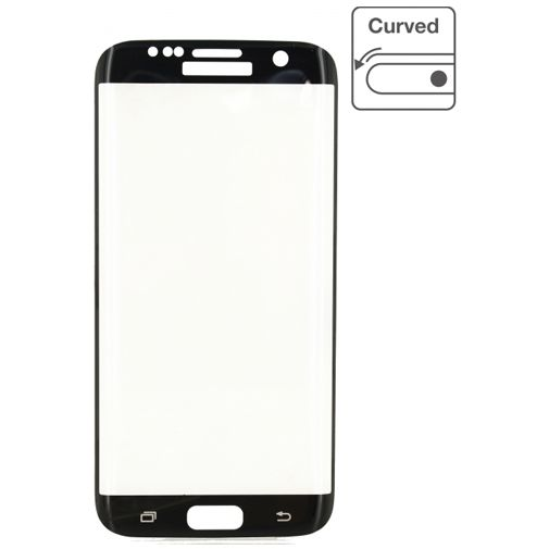 Mobilize Edge-To-Edge Glass Screenprotector Samsung Galaxy S7 Black