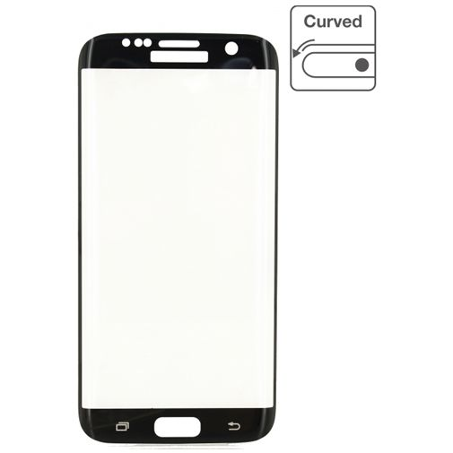Mobilize Edge-To-Edge Glass Screenprotector Samsung Galaxy S7 Edge Black