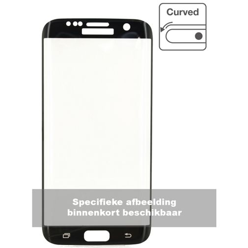 Mobilize Edge-To-Edge Glass Screenprotector Samsung Galaxy S8 Black
