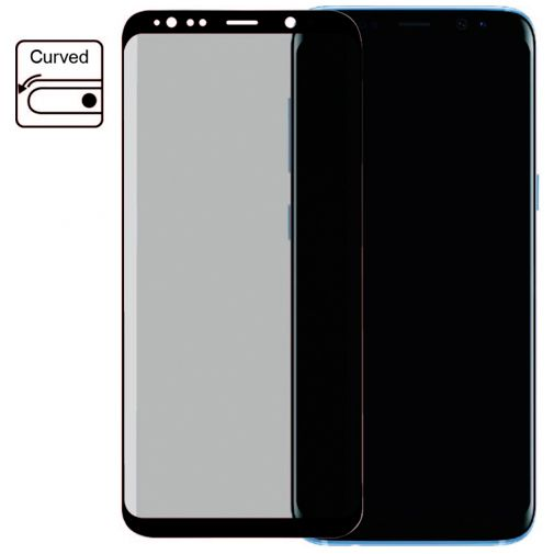 Productafbeelding van de Mobilize Edge-To-Edge Glass Screenprotector Samsung Galaxy S8+ Black